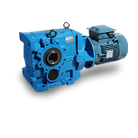 bevel helical geared motor in India