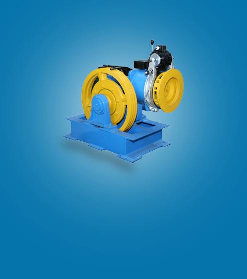 geared-lift-machine